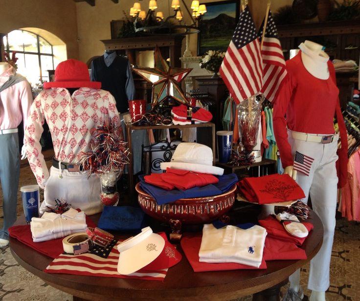 "Golf shop ""Patriot Pro-am"" display 2014"