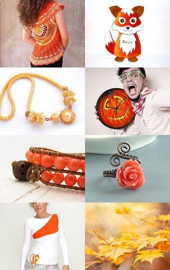 Orange September by Maria on Etsy--Pinned with TreasuryPin.com