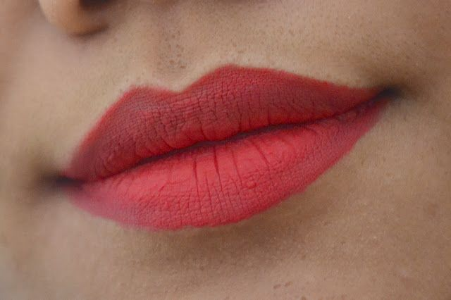 Lemme Swatch It!: NYX Soft Matte Lip Cream (Amsterdam) Lip Swatch