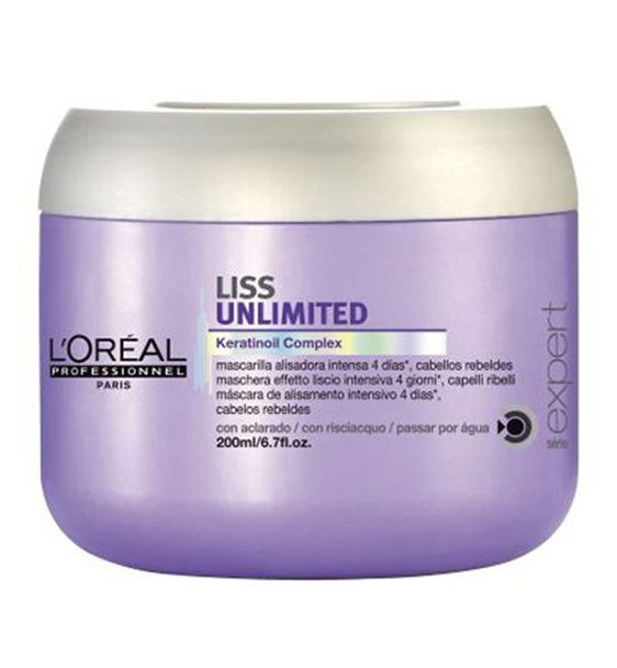 L'Oreal Professionnel Liss Unlimited Masque 200ml http://hairbeautycorner.gr/κατάστημα/loreal-professionnel-liss-unlimited-masque-200ml/