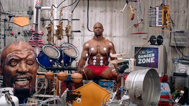 I love Terry Crews  Old Spice Muscle Music by Terry Crews. Watch me jam solo, then use the special interactive player to record your own remix. Go ahead, show me what you got!