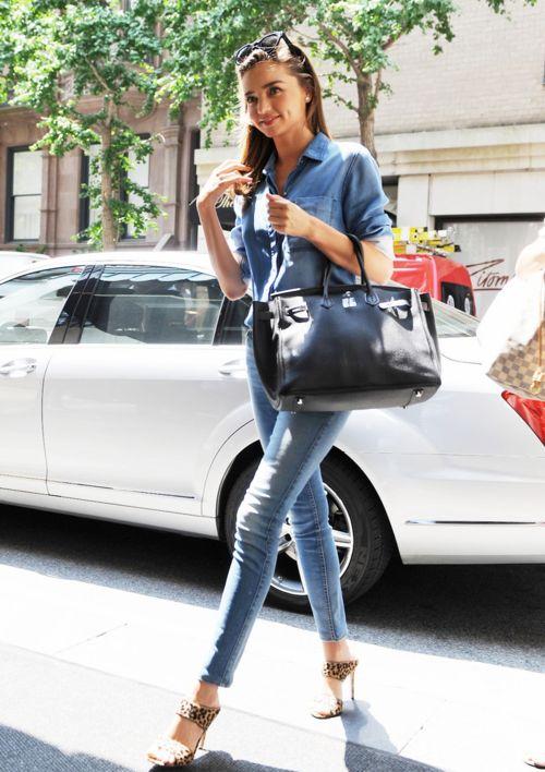 Miranda Kerr Street Style Model Off Duty Pinterest