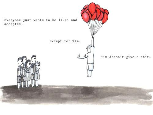 We all feel like Tim sometimes.