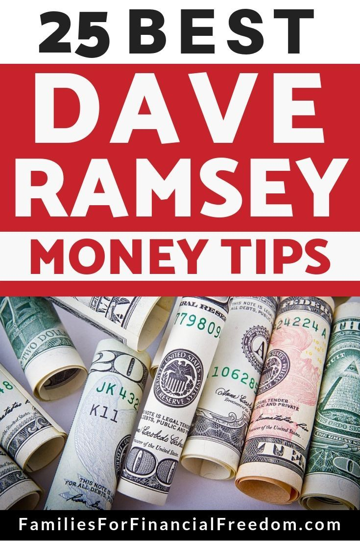 Dave Ramsey Tips: 25 Best Lessons from Dave Ramsey for 2019!