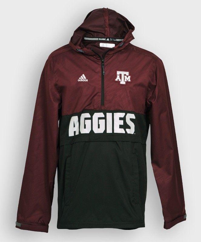 ADIDAS Sideline Anorak Jacket #Adidas #Football #TAMU #Aggies