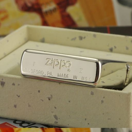 1994 Plated Silver Windy Girl Zippo Lighter