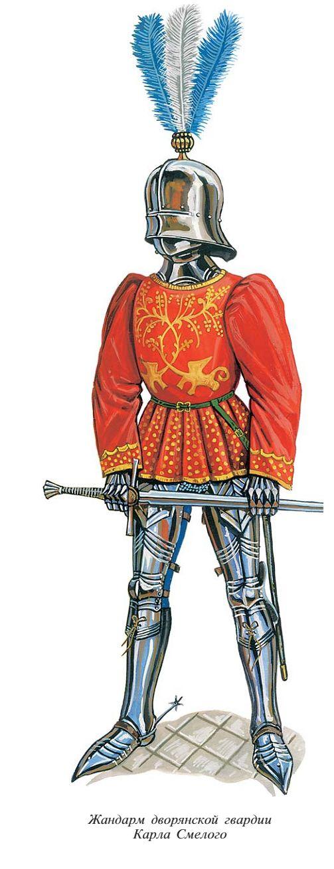 Cavaliere tedesco, XV secolo
