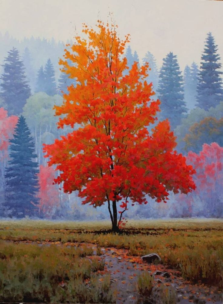 1254 best images about trees on pinterest trees oil on canvas and autumn trees. Black Bedroom Furniture Sets. Home Design Ideas