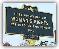 """""""We hold these truths to be self-evident: that all men and women are created equal."""" (Declaration of Sentiments, 1848)"""