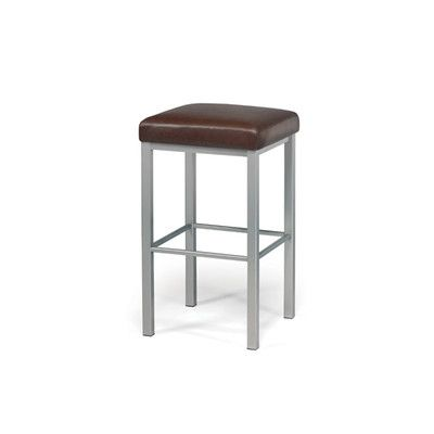 """Trica Day 30.5"""" Bar Stool with Cushion Upholstery:"""
