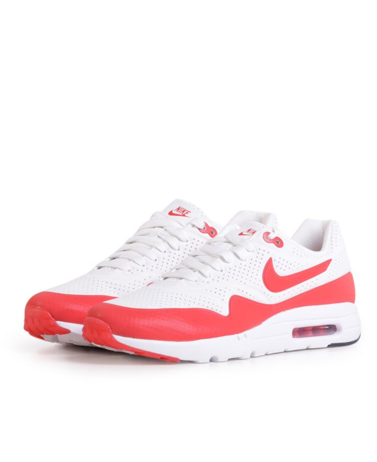 Air Max 1 Ult, Moi, White/Red