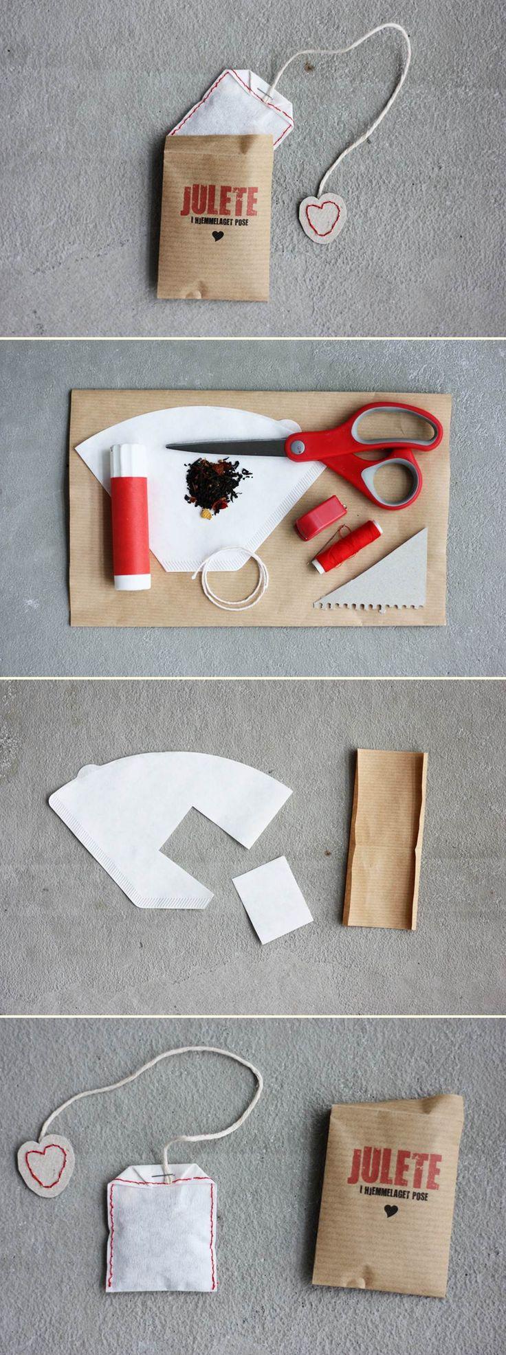 Homemade tea bags | DIY Stuff