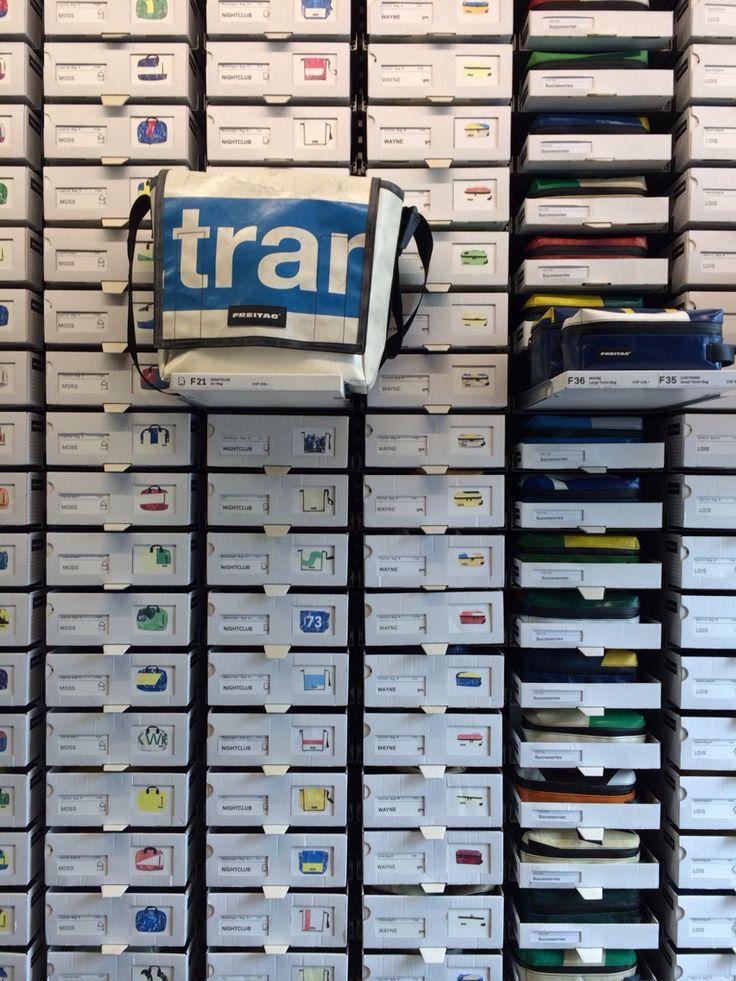 Freitag store in Zurich