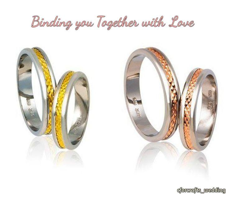 Παντρεύεστε; Τις ομορφότερες βέρες θα τις βρείτε στο CforCrafts! #CforCrafts_wedding