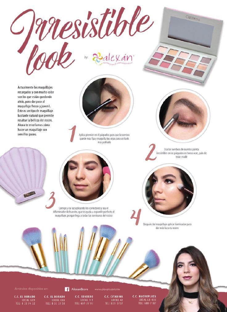 QUETAL TIPS  Irresistible look  Actualmente los maquillajes recargados y con mucho color son los que están quedando atrás, para dar paso a lo maquillajes naturales, aqui te enseñamos cómo hacer uno.