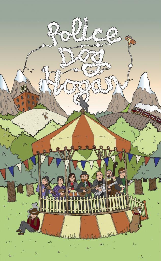 Police Dog Hogan Album Artwork