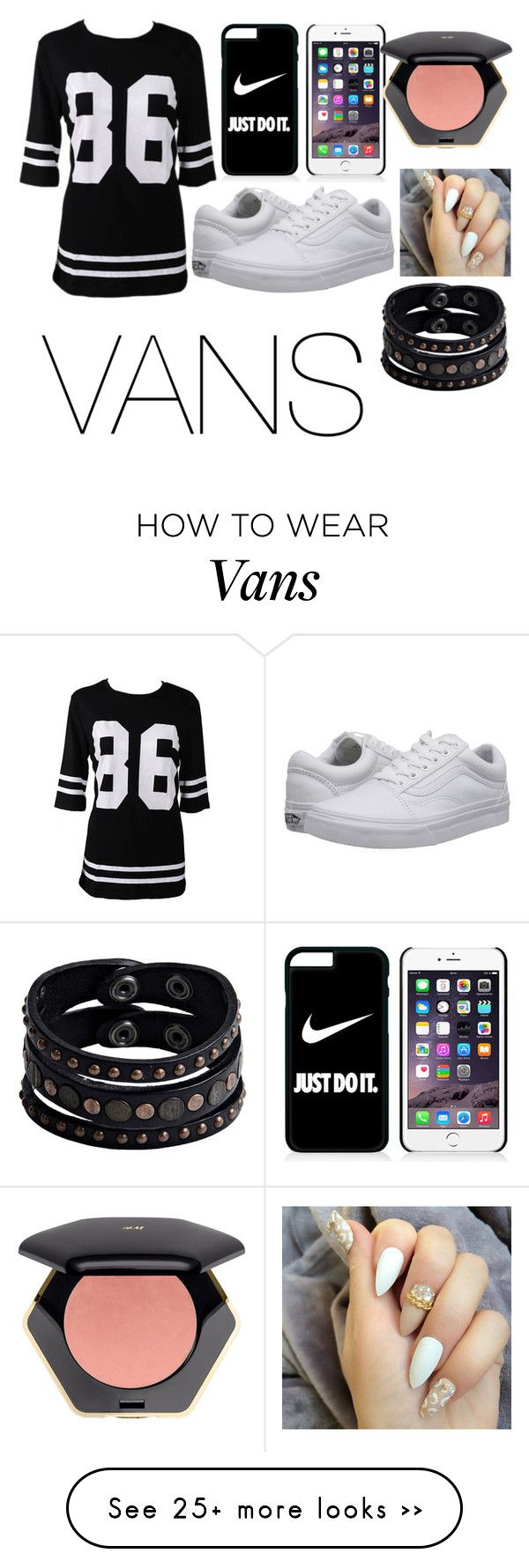 """""""VANS"""" by irlovesdance on Polyvore featuring Vans, NIKE, H&M and Replay"""