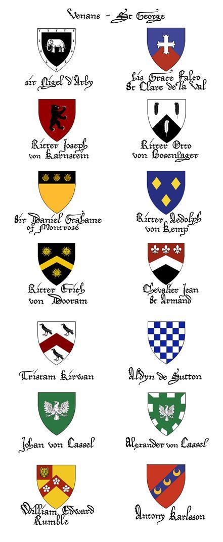 Knights Order Lion Rampant - venans at Abbey Medieval Fair 2011