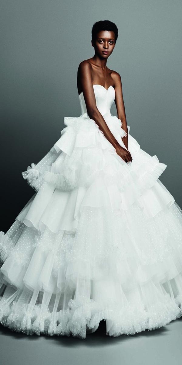 dbe8677a2982 30 Wedding Dresses 2019 — Trends & Top Designers | Wedding Dresses 2019 | Wedding  dresses, Fancy wedding dresses, Designer wedding dresses