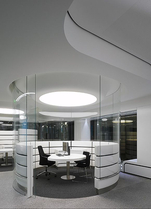 QUITE ROOM WGV Customer Centre Stuttgart Germany By Ippolito Fleitz Group Architects Office Interior DesignDesign