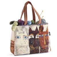 Laurel Burch® Ancestral Cats Tote