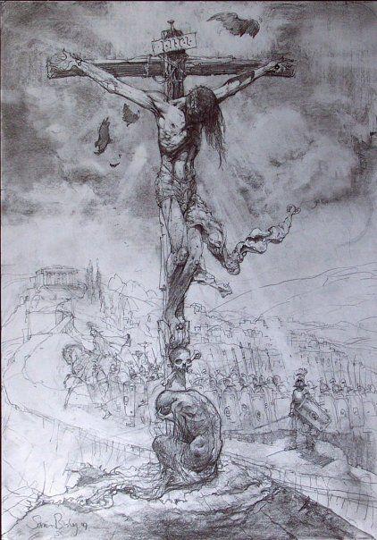 tiffany ad co The Bible   Simon Bisley