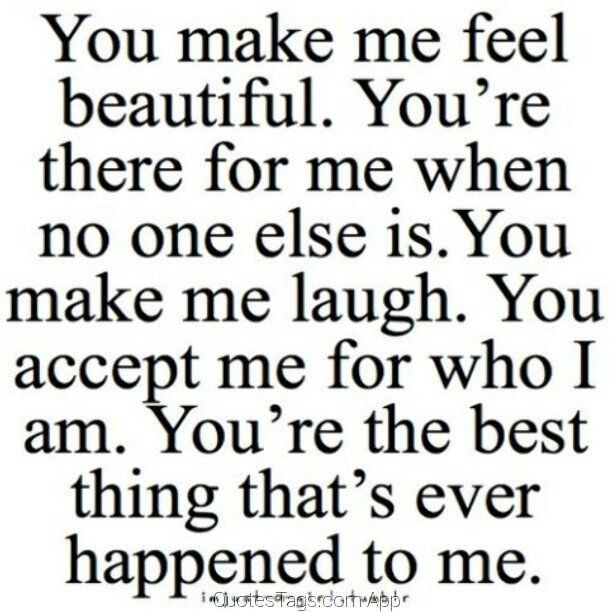 I need to send this to my boyfriend. I love when we send each other romantic quotes
