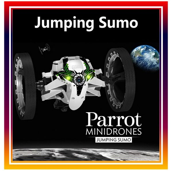 239.99$  Watch here - http://alin6e.worldwells.pw/go.php?t=2050678074 - New Arrival Original Parrot Mini Drones Jumping Sumo RC Car Remote Control Car By iPhone / iPad with Camera Free Shipping 239.99$