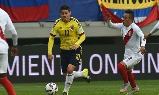 Perú vs. Colombia: James Rodríguez y Christian Cueva tendrán un duelo aparte. June 17, 2016.