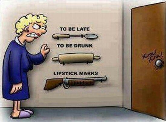 Lipstick marks is BAAADDD!