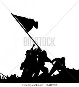 Flag Vector Free on Flag Race In Iwo Jima By Us Soldiers Stock Vector ...