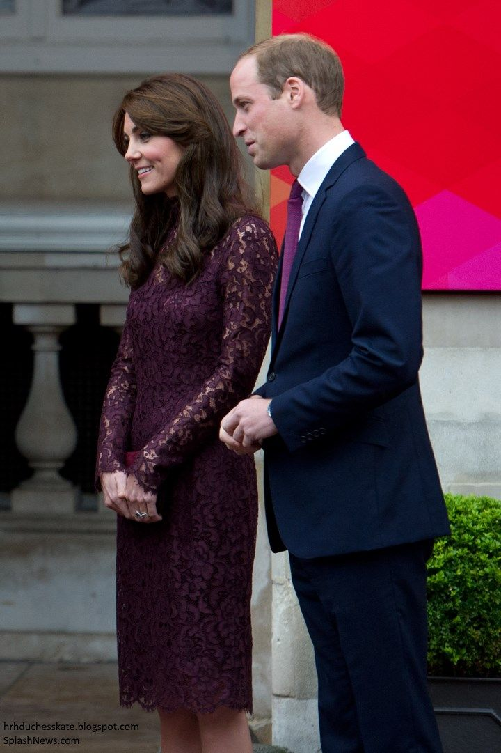 Duchess Kate: Elegant Kate in Dolce & Gabbana for Creative Industry Event. In love with this dress.