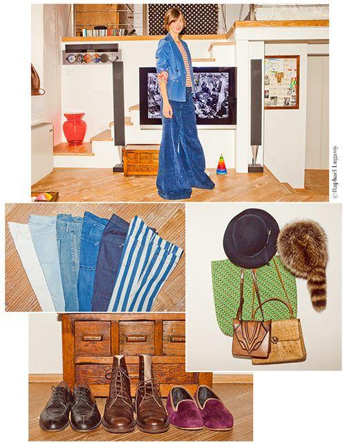 Dans le dressing d'Angela Biani de la marque de jeans Seafarer | Vogue