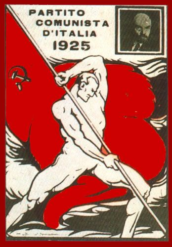 PCI, Partido Comunista Italiano, 1925