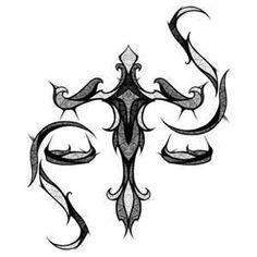 Deusa Do Signo De Libra Tattoo