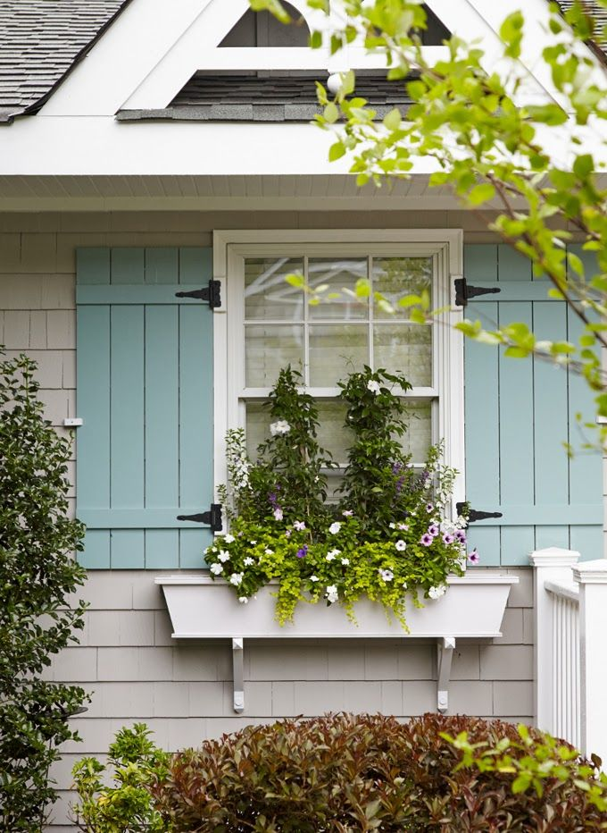 25 best ideas about blue shutters on pinterest shutter for Window design colour
