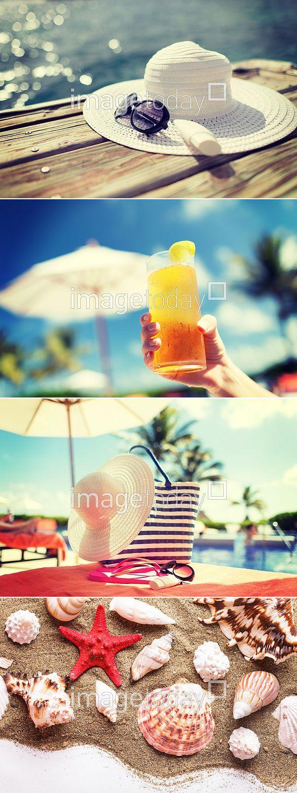 사진 #이미지투데이 #imagetoday #클립아트코리아 #clipartkorea #통로이미지 #tongroimages 모자 여름 실외 선글라스 여행 오브젝트 휴가 휴식 칵테일 선베드 불가사리 물결 모래 신선 컬러풀 다양함 hat summer outside sunglasses travel object holiday cocktail sunbed starfish wave sand fresh colorful variety