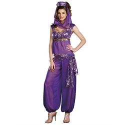 Wholesale Halloween Costumes - Women's Sexy Ally Kazaam Genie Costume