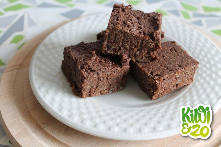 Gezonde no-bake brownies