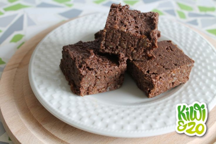 Gezonde no-bake brownies