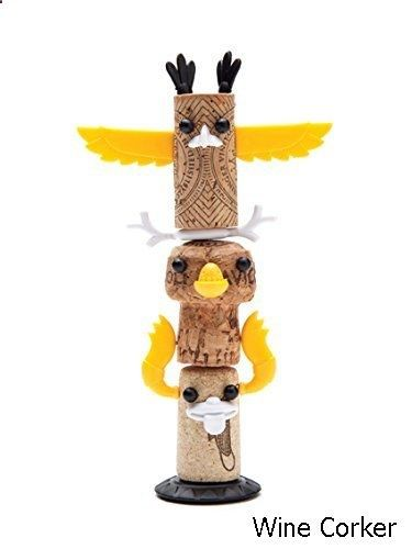 Wine Corker - Corkers Totem Kit - decorative pins to bring your wine corks to life!