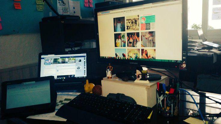 ¡En la #Oficina en Directo con #OladeCalor pero con muchas ganas! #rrhh #marcapersonal #pymes