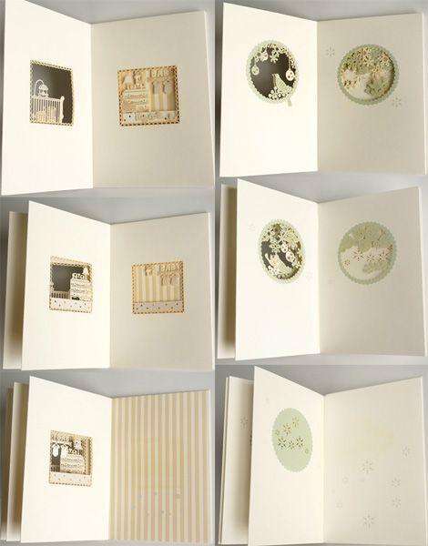 【Mon cher】Story book card/小鳥/ベビー/メッセージカード/ギフトカード/ストーリーブックカード/ペーパーワーク - Nature Ave.