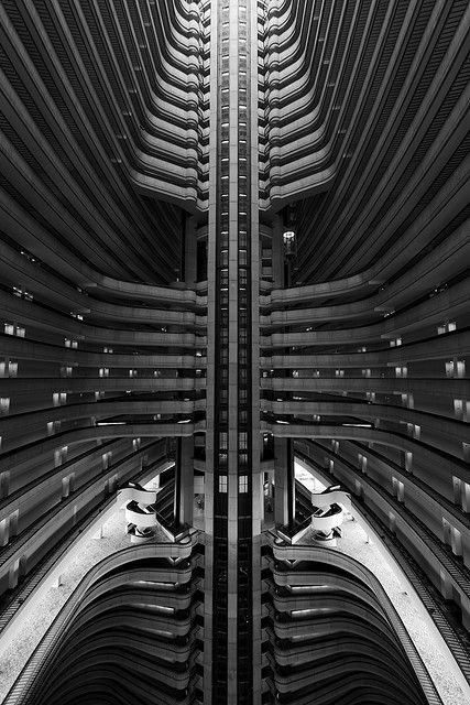 John Portman, Marriott, Atlanta (1985).