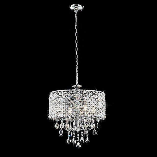 Contemporary Crystal Dining Room Chandeliers Mesmerizing Design Review