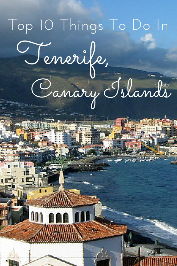 Tenerife's sunny climate and rugged terrain make it popular among tourist. These are 14 of the Top Things to Do in Tenerife, Spain that visitors should not miss.