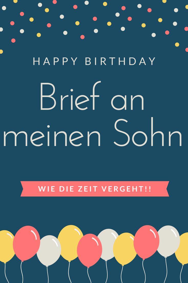 Die besten 25 zitate zum geburtstag des sohnes ideen auf pinterest alles gute zum geburtstag - Geburtstagskarte 25 geburtstag ...