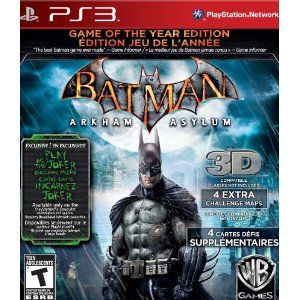 Batman Arkham Asylum... if you get the newer one and think you dont have to play this one... you SHOULD play it anyway! WORTH IT!
