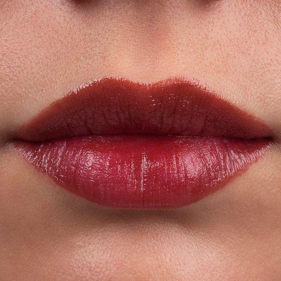 IT Cosmetics  Vitality Lip Flush 4-in-1 Reviver Lipstick Stain Pretty Woman swatch on fair, light complexion.