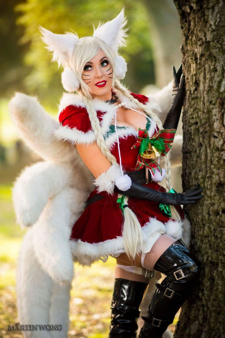 Cosplayer: Jessica Nigri. Country: United States. Cosplay: Ahri from League of Legends. Photo by: Martin Wong Photography. https://m.facebook.com/OfficialJessicaNigri/